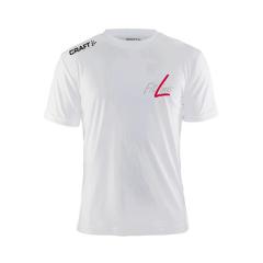 Fitline Mens White T-Shirt